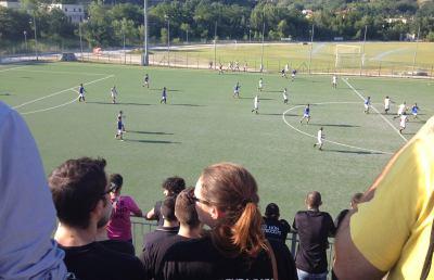 Ascoli Calcio, i tifosi manifestano e contestano