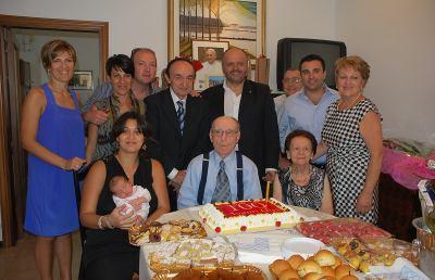 San Benedetto, Luigi Evangelisti spegne cento candeline