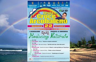 """Festa della Croce Arcobaleno, si discute di """"Medicina naturale"""""""