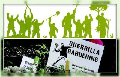 Guerrilla Gardeners, anche in Italia esplodono le bombe... verdi