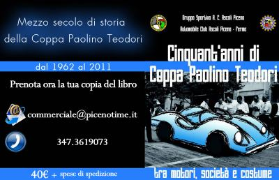 Coppa Paolino Teodori 2013, tutte le Auto Minicar in gara