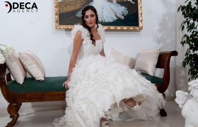 Abiti da sposa G&G Atelier, backstage Alessandra