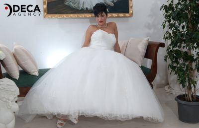 Abiti da sposa G&G Atelier, backstage Valeria