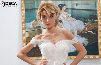 Abiti da sposa G&G Atelier, backstage Mariagiusy
