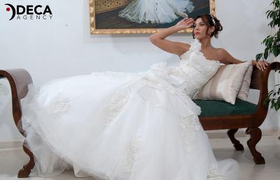 Abiti da sposa G&G Atelier, backstage Ilaria