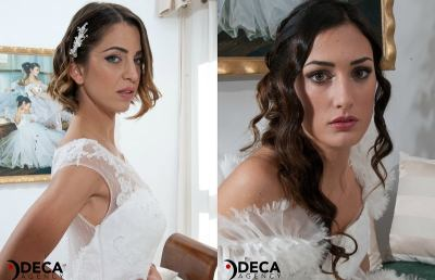 G&G Spose, Alessandra e Giovanna le modelle per catalogo 2016