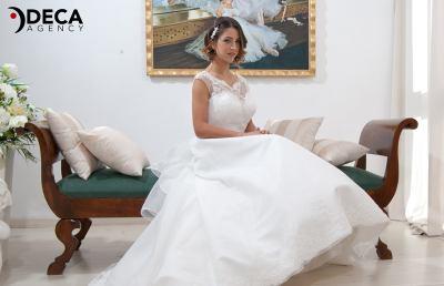 Abiti da sposa G&G Atelier, backstage Giovanna