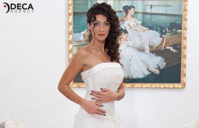 Abiti da sposa G&G Atelier, backstage Maddalena