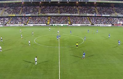Cesena-Brescia 2-0, partono subito forte i romagnoli di Drago
