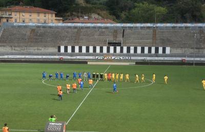 Monticelli-Amiternina 2-1, affermazione storica con Margarita e Alijevic
