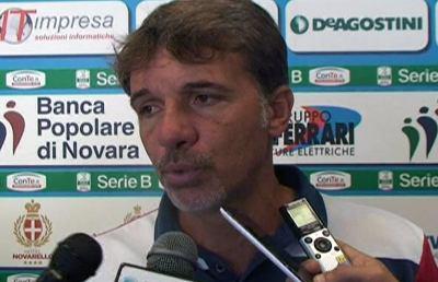 Novara-Latina 1-1, le voci di Baroni e Iuliano post gara