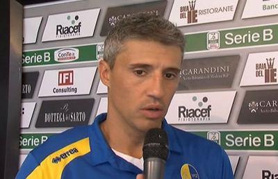 Modena-Vicenza 0-1, le voci di Crespo e Marino post gara