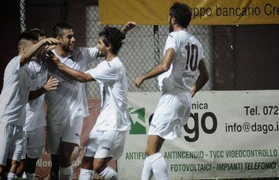 Alma Juventus Fano-Giulianova 3-1, highlights