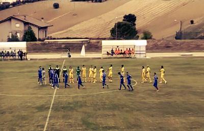 Folgore Veregra-Monticelli 1-2, highlights