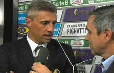 Modena-Ternana 1-0, le voci di Crespo e Toscano post gara