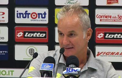 Cesena-Modena 2-0, le voci di Drago e Crespo post gara