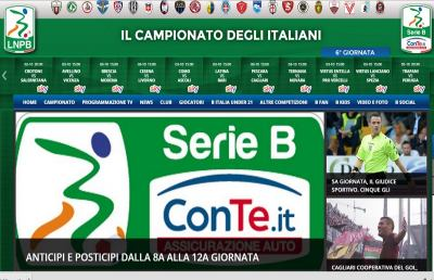 Serie B, stabiliti anticipi e posticipi dall'8° al 12° turno