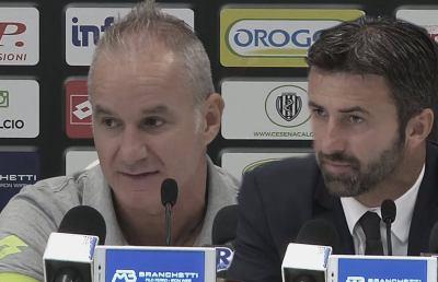 Cesena-Livorno 1-0, le voci di Drago e Panucci post gara