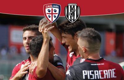 Cagliari-Cesena 3-1, i rossoblù volano via in testa alla classifica