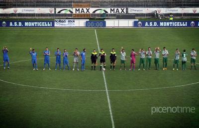 Monticelli-Castelfidardo 1-1, highlights