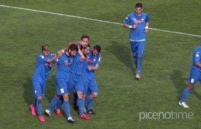 Monticelli-Castelfidardo 1-1, Galli interrompe la serie di sconfitte degli ascolani