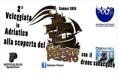 Veleggiata in Adriatico alla scoperta del ''Galeone'' di Pesaro