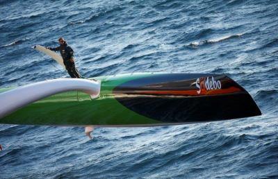 Coville pronto per battere record del mondo di navigazione in solitaria