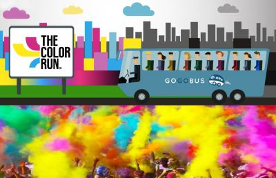 Da Ascoli Piceno alla ''Color Run'' di Rimini in bus sharing