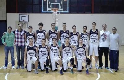 Serie D, i giovani dell'Ascoli Basket battono la Victoria Fermo