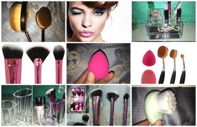 Accessori make-up: tutto su pennelli ovali e beauty blender