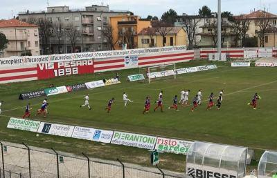 Vis Pesaro-Sangiustese 2-0, highlights e voci D'Amore-Senigagliesi post gara