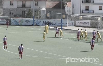 Olympia Agnonese-Vis Pesaro 1-1, highlights