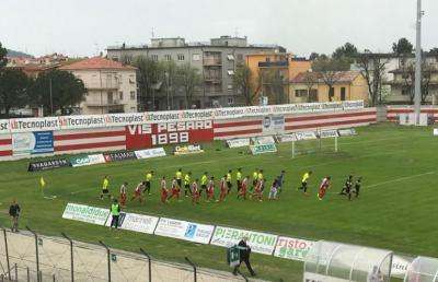 Vis Pesaro-Fabriano Cerreto 3-0, highlights e voci D'Amore-Monaco post gara