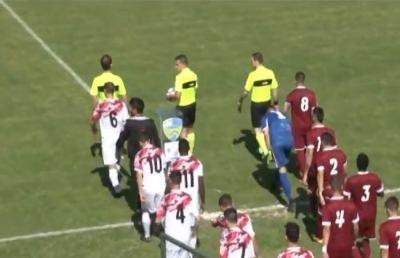 San Nicolò-Jesina 2-1, highlights