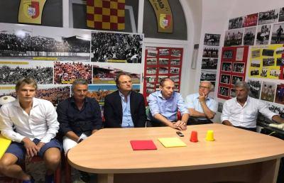 Real Giulianova, presentato ufficialmente il nuovo allenatore Stallone. Al suo fianco Terrani