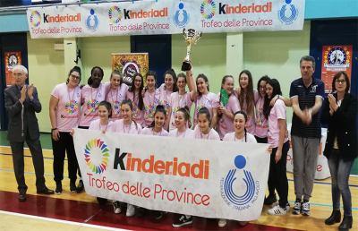 Pallavolo:  Kinderiadi 2019, argento per la rappresentativa femminile Ascoli-Fermo