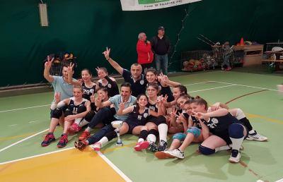 Pallavolo femminile, Under 13 Incontra Volley Castel di Lama vince finali provinciali