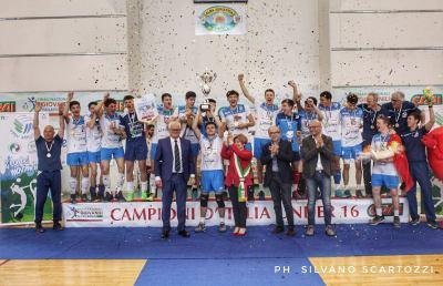 Pallavolo, grande successo per le finali nazionali maschili Under 16 in Val Vibrata