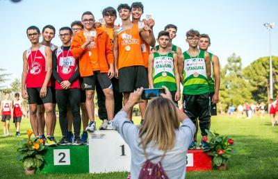 Collection Atletica Sambenedettese, dominio nelle staffette al Campo Scuola di Ascoli