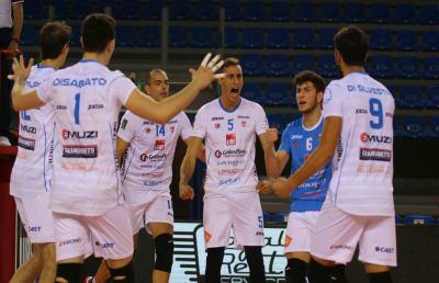 Pallavolo Serie A3, netta vittoria interna della GoldenPlast Civitanova contro Pordenone