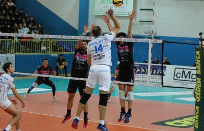 Pallavolo Serie A3: GoldenPlast Civitanova, i biancazzurri cadono 3-1 a Brugherio