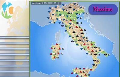 Meteo, la situazione ad Ascoli Piceno e nelle Marche per ...