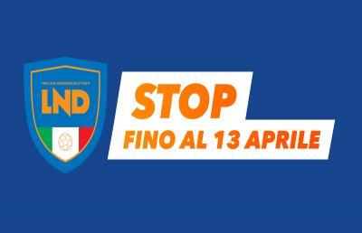 """Coronavirus, Lega Nazionale Dilettanti: """"Stop fino al 13 Aprile. Battaglia dura ma ce la faremo"""""""