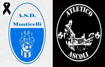 Coronavirus, Monticelli si unisce al cordoglio dell'Atletico Ascoli per la morte del papà di Tomassetti