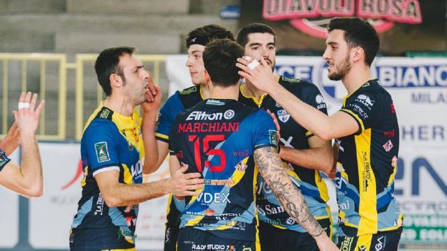 Pallavolo, finisce ai quarti l'avventura della Videx Grottazzolina ko anche a Brugherio