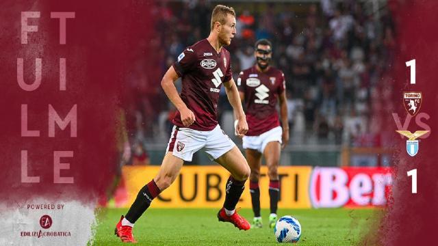 Torino-Lazio 1-1, highlights