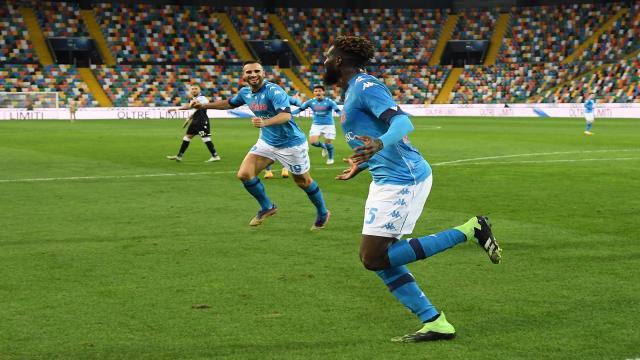 Udinese-Napoli 1-2, highlights