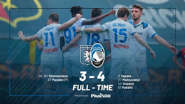 Genoa-Atalanta 3-4, highlights. Gasperini conquista la terza qualificazione consecutiva in Champions