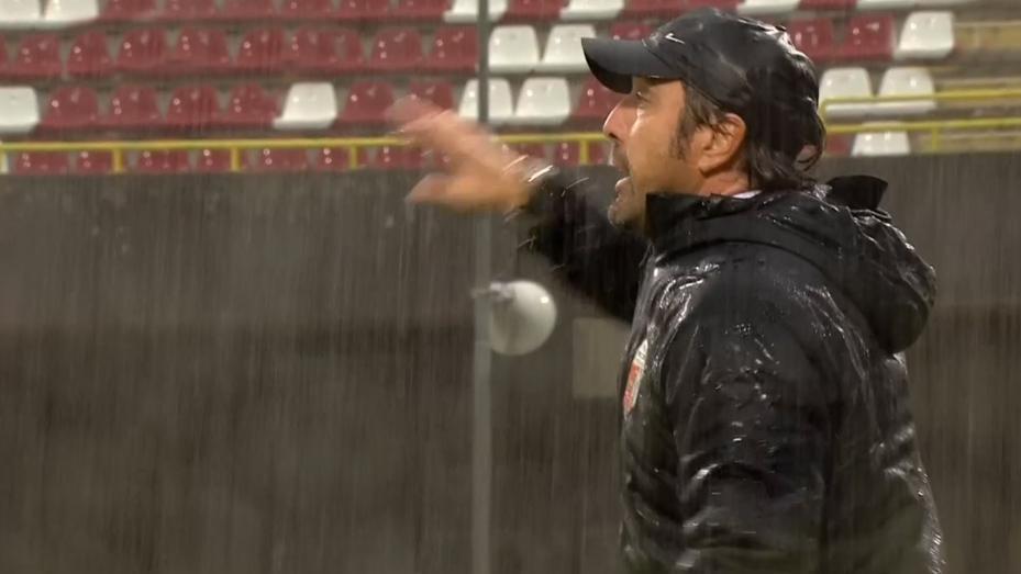 """Salernitana-Ascoli 1-0, Bertotto: """"Non s'è potuto giocare a calcio. Rigore? Stucchevole commentare episodi evidenti"""""""