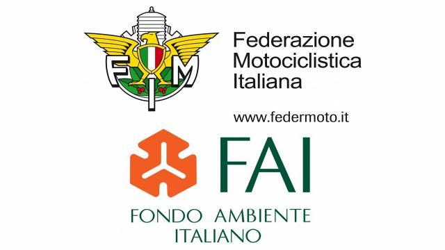 Federazione Motociclistica Italiana, protocollo con il Fai per la tutela dell'ambiente